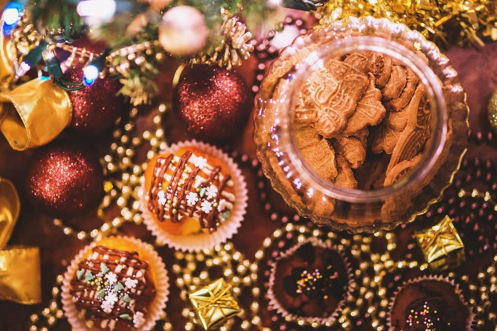 christmas baking for cold days