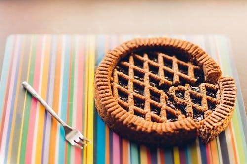 Autumn activities baking pie
