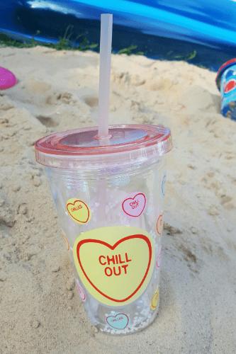 love heart cup Swizzels sweets