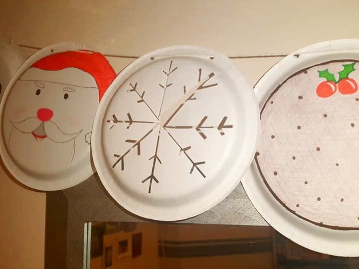 christmas crafts diy bunting