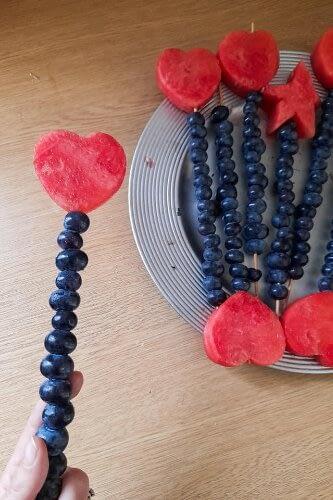fruit wand kids activities