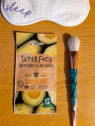 7th heaven superfood avocado clay mask