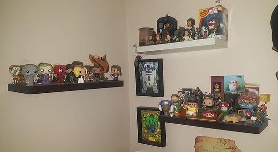 Funko nerd shelf