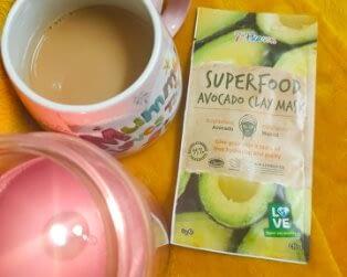 7th heaven avocado clay mask